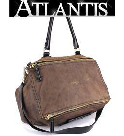 Givenchy GIVENCHY Pandora 2WAY Shoulder Handbag Brown