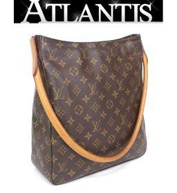 Louis Vuitton LOUIS VUITTON Looping GM Shoulder Bag Monogram M51145