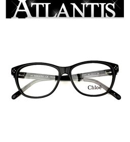 Beautiful goods Chloe Chloe glasses glasses frame black CE2633