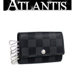 Louis Vuitton LOUIS VUITTON Multure 6 6 consecutive key case Damier Grafitt N62662
