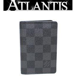ルイヴィトン LOUIS VUITTON オーガナイザードゥポッシュ カードケース 黒 N63143
