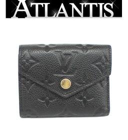 Louis Vuitton LV Portofeuil Zoe Tri-Fold Compact Wallet Amplant Black M62935