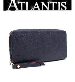 Good Condition Louis Vuitton LV Zippy Wallet Round Zipper Wallet Amplant M62121