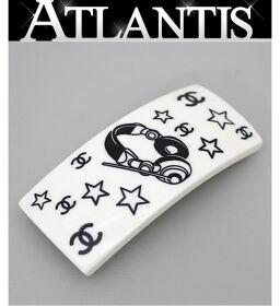 rare! Good Condition Chanel CHANEL Coco Mark COCO Valletta Headphones White Hair Accessories