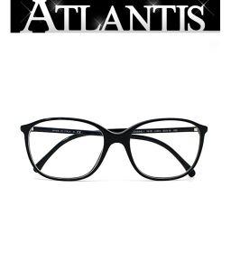 Good Condition Chanel CHANEL Date Glasses Glasses Frame Black