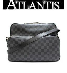 Louis Vuitton LV Io Diagonal Shoulder Bag Damier Graffit Black N45252