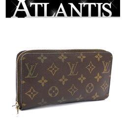 Louis Vuitton LOUIS VUITTON Zippy Wallet Round Zipper Wallet Monogram M60017