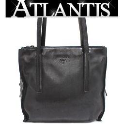 Prada PRADA Shoulder Tote Bag Black B6087