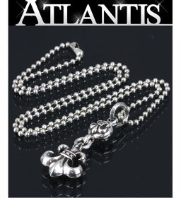 Ginza Chrome Hearts 1 ball ball flare ball chain necklace 925