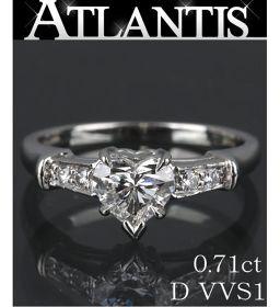 銀座店 ハリーウィンストン ハートシェイプ ダイヤリング 指輪 Pt950 D0.71ct size10