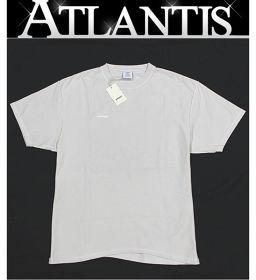 銀座店 未使用品 ヴェトモン VETEMENTS オーバーサイズ バックロゴTシャツ オフホワイト ベージュ S