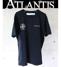 銀座店 オフホワイト 阪急 MEN'S TOKYO限定 LANDSCAPE デニム Tシャツ サイズL 黒