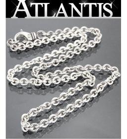 Ginza store Chrome Hearts NE chain necklace 18 inches silver SV925