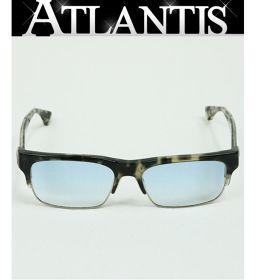 銀座店 クロムハーツ メガネ フレーム 度入り MINGUS 眼鏡 アイウェア サングラス 黒 × クリア系