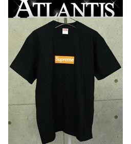 銀座店 シュプリーム 2017AW ボックスロゴ Box Logo Tee プロモーション Tシャツ 黒 M