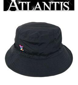 銀座店 未使用品 ルイヴィトン ボブ トランスフォーマブル バケットハット 帽子 黒 MP2552