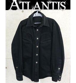 銀座店 クロムハーツ ブラック デニム ジャケット size:S 黒 SV925 シルバー