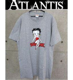Ginza store Supreme 16SS Betty Boop Tee T-shirt short sleeve sizeL gray
