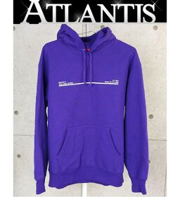Ginza store Supreme 20AW Shop hooded Sweatshirt Purple size: M