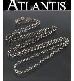 Ginza store Chrome Hearts roll chain necklace with invoice 24 inches silver SV925