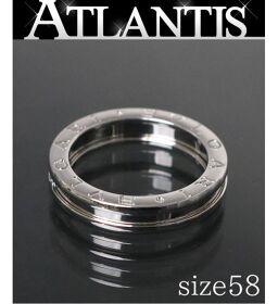 Ginza store beauty goods Bulgari BVLGARI B-ZERO1 ring WG XS white gold size58