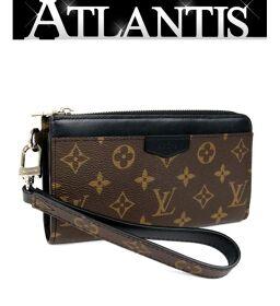 Ginza store beauty goods Louis Vuitton Monogram Zippy Dragonne M69407 long wallet brown / black