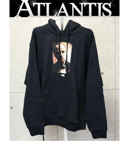 Ginza store new kiss godfather pullover hoodie print hoodie black size: XL