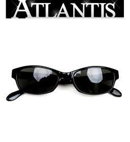 "Ginza store Chrome Hearts ""BELL DOG"" Sunglasses Eyewear Black Horseshoe SV925"