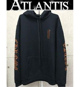 Ginza store Chrome Hearts Good Condition Old English Pullover Hoodie size: L