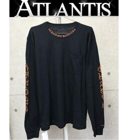 Ginza store Chrome Hearts new old English L / S Tee long sleeve size: XL black