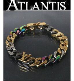 Ginza store Louis Vuitton brassiere chain links bracelet M69493