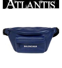 Ginza store Balenciaga Everyday Body bag Waist bag Waist pouch Navy