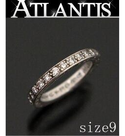 <html>    <body>   銀座店 クロムハーツ TFLリング パヴェダイヤ 指輪 シルバー SV925 約9号        </body> </html>