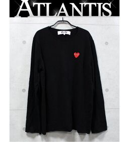 Ginza store Comme des Garcons PLAY knit size: L black
