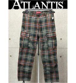 Ginza store unused Supreme Tartan flannel skate pant pants size: 30
