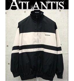 Ginza store Balenciaga truck jacket size44 black x beige