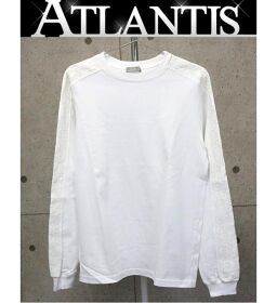 Ginza store Dior Oblique long sleeve long sleeve size XS white