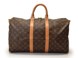 Used Louis Vuitton Monogram KEYPOL 45 with strap M41418 ◇