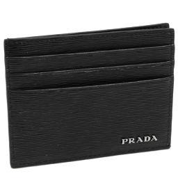 プラダ 札入れ兼用カードケース ヴィッテロムーヴ カーフ(黒)(2MC223)