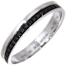 ブシュロン K18WG キャトルリング(キャトルブラックマリッジリング) 指輪(リング) メンズリング(JAL00206)