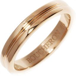 ブシュロン K18PG ゴドロンリング 指輪(リング)(JAL00009) #46(6号)