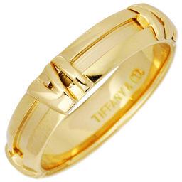 ティファニー K18YG アトラスニューメリックリング 指輪(リング) 10号