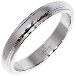グッチ K18WG マリッジリング 指輪(リング) メンズリング #21(20号)