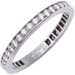 ヴァンクリーフ&アーペル Pt950 ダイヤ38P ロマンスエタニティリング 指輪(リング)(VCAR01W000)