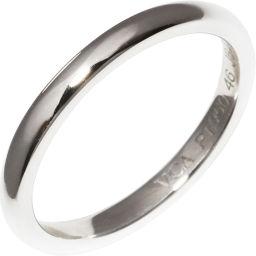 ヴァンクリーフ&アーペル Pt950 アンフィニマリッジリング 指輪(リング)(VCARA87300) #46(6号)