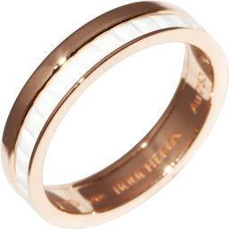 ブシュロン K18PG/ホワイトセラミック キャトルホワイトマリッジリング 指輪(リング)(JAL00238)