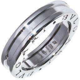 ブルガリ K18WG B.zero1(ビーゼロワン)リング(XS) 指輪(リング)(AN852423) #47(7号)