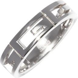グッチ K18WG マルチプルリング(幅4.5ミリ) 指輪(リング) #9(8.5号)