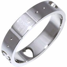 グッチ K18WG アイコンアモールリング 指輪(リング) #8 8号