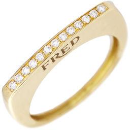 フレッド K18YG ダイヤ13P ミニサクセスリング 指輪(リング) #54(13.5号)